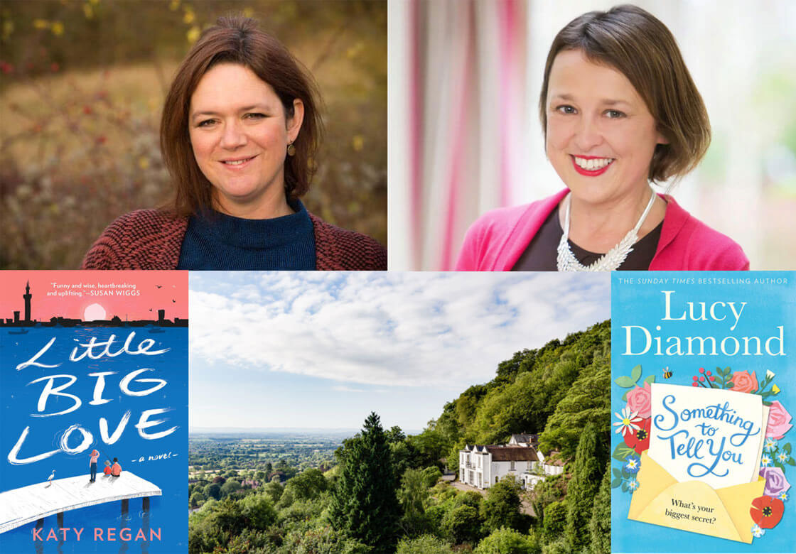 Lucy Diamond and Katy Regan 'in conversation' at The Cottage in the Wood